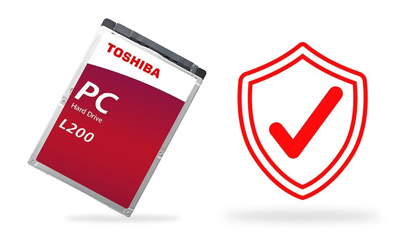 Toshiba L200 Mobile Niezawodna efektywność, długotrwała wytrzymałość