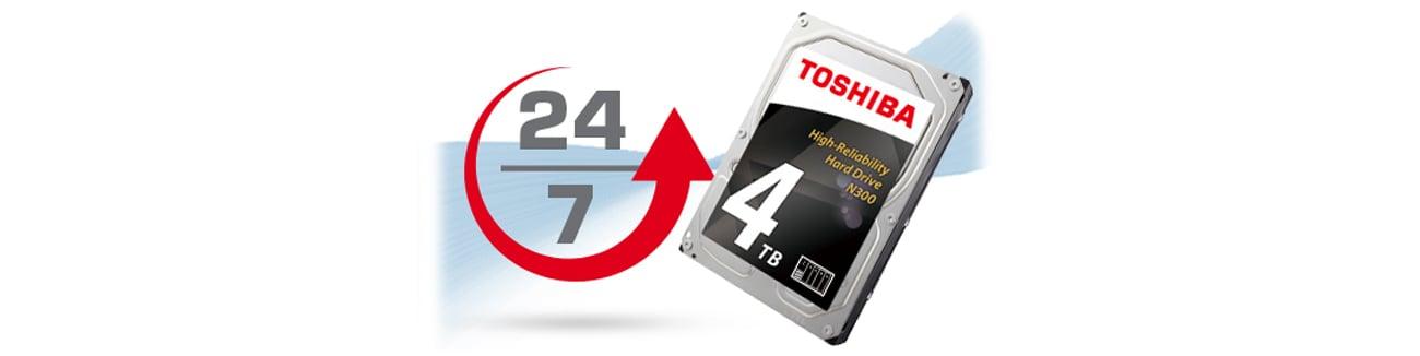 Toshiba N300 niezawodne działanie