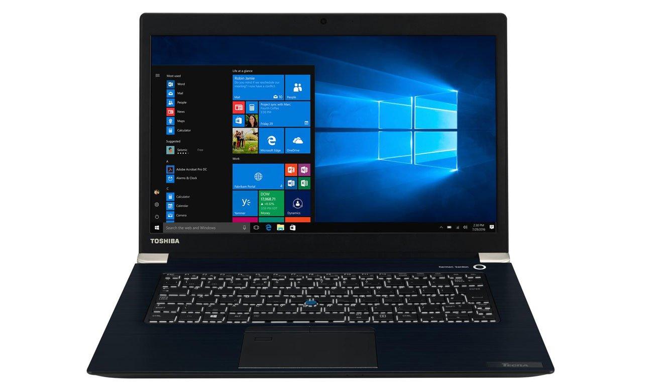Laptop biznesowy Toshiba Tecra X40