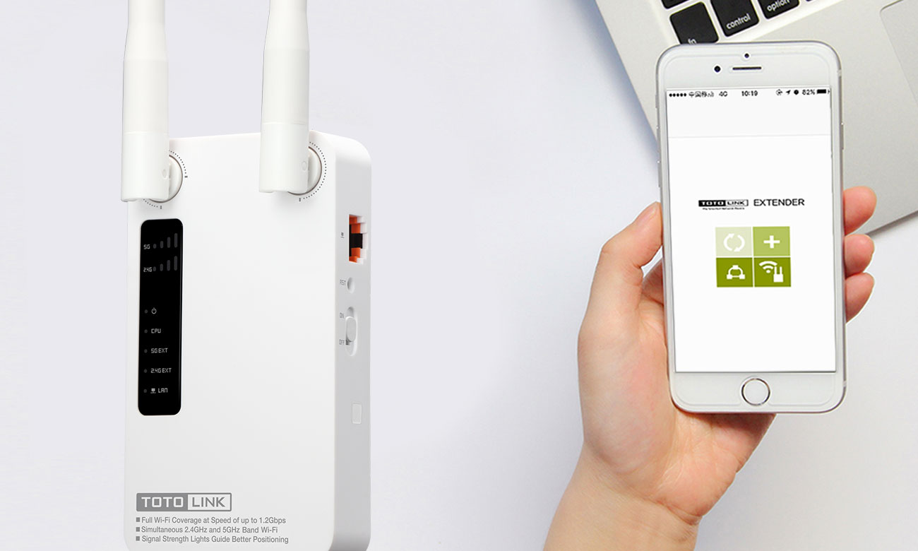 Totolink EX1200M Aplikacja mobilna