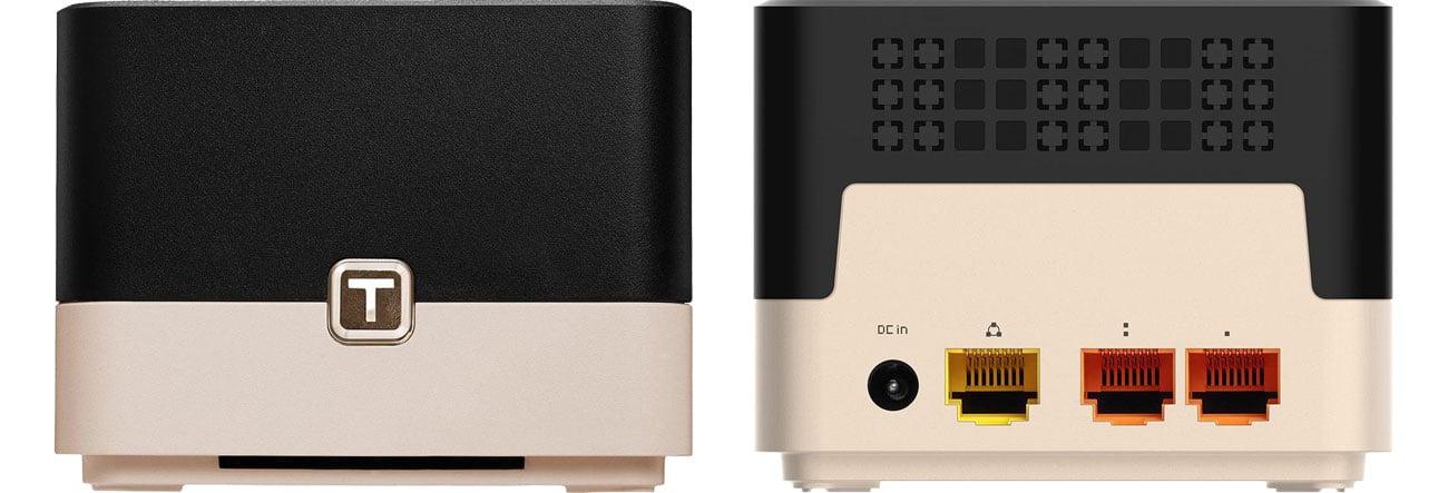 Totolink T10 Złącza LAN/WAN