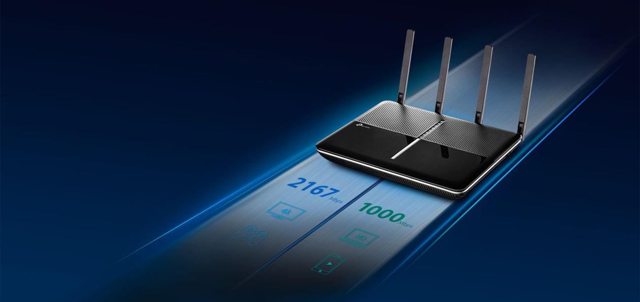 TP-Link Archer C3150 do 3167 Mbps