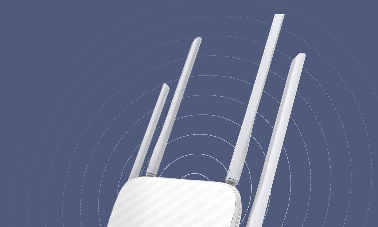 TP-Link Archer C5 Cztery anteny