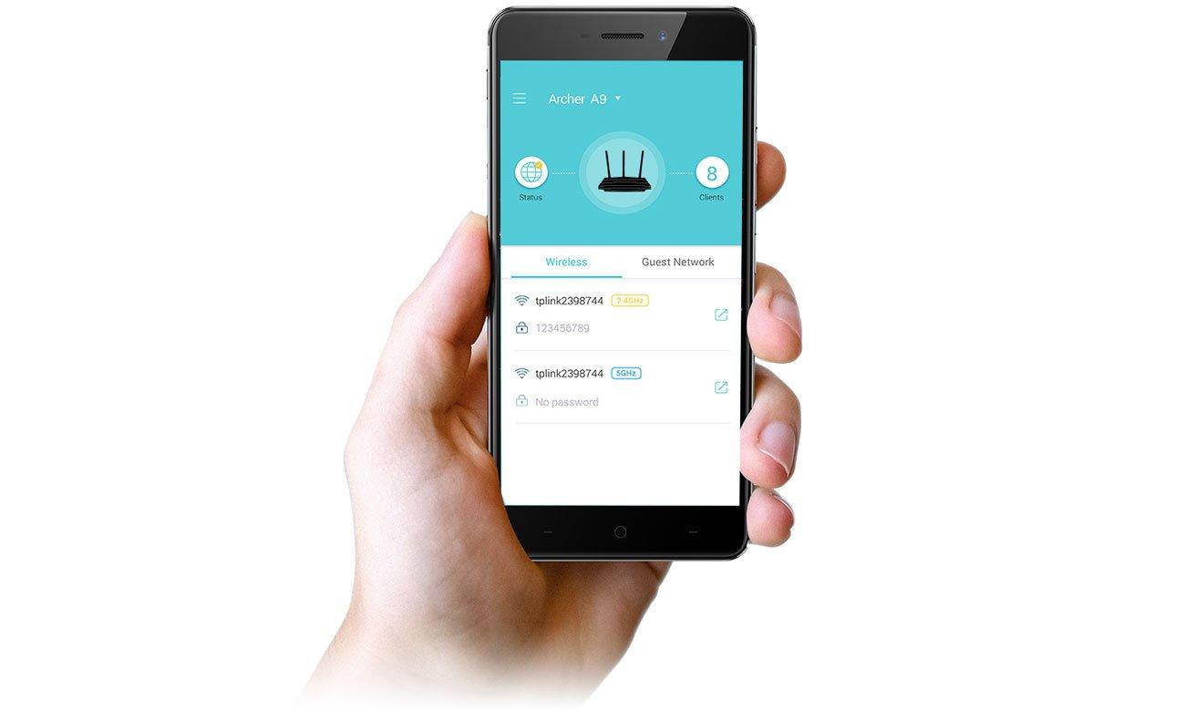 TP-Link Archer A9 - Aplikacja mobilna Tether