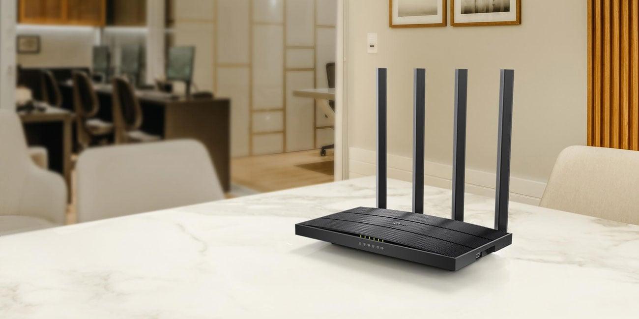 Router TP-Link Archer C6U (1200Mb/s a/b/g/n/ac) USB DualBand MU-MIMO