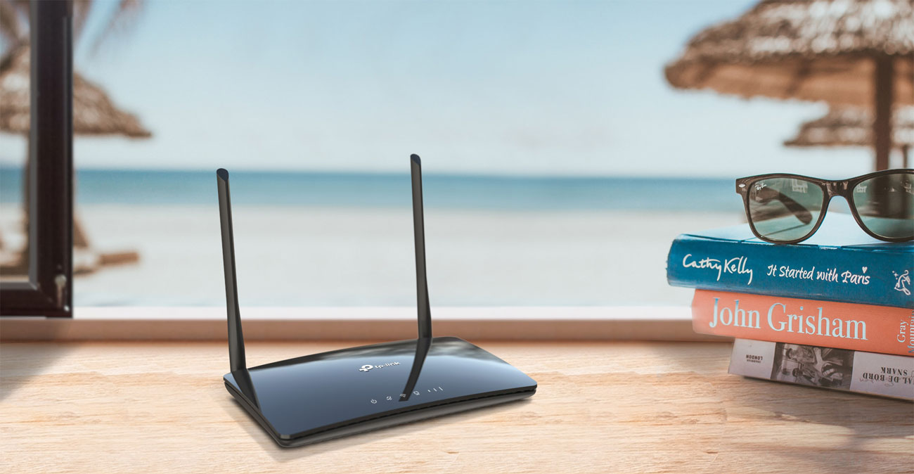 Router TP-Link MR400 1200Mbps a/b/g/n/ac 3G/4G LTE 150Mbps 4xLAN