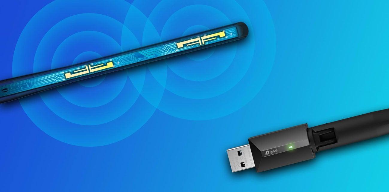 TP-Link Archer T3U Plus - Antena