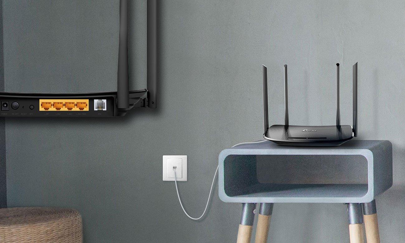 TP-Link Archer VR300 Port DSL
