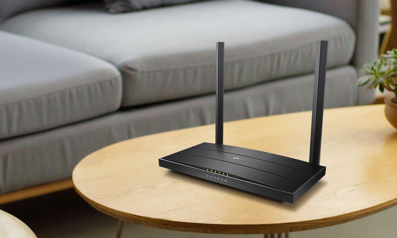 Router TP-Link Archer VR400 (1200Mb/s a/b/g/n/ac) USB