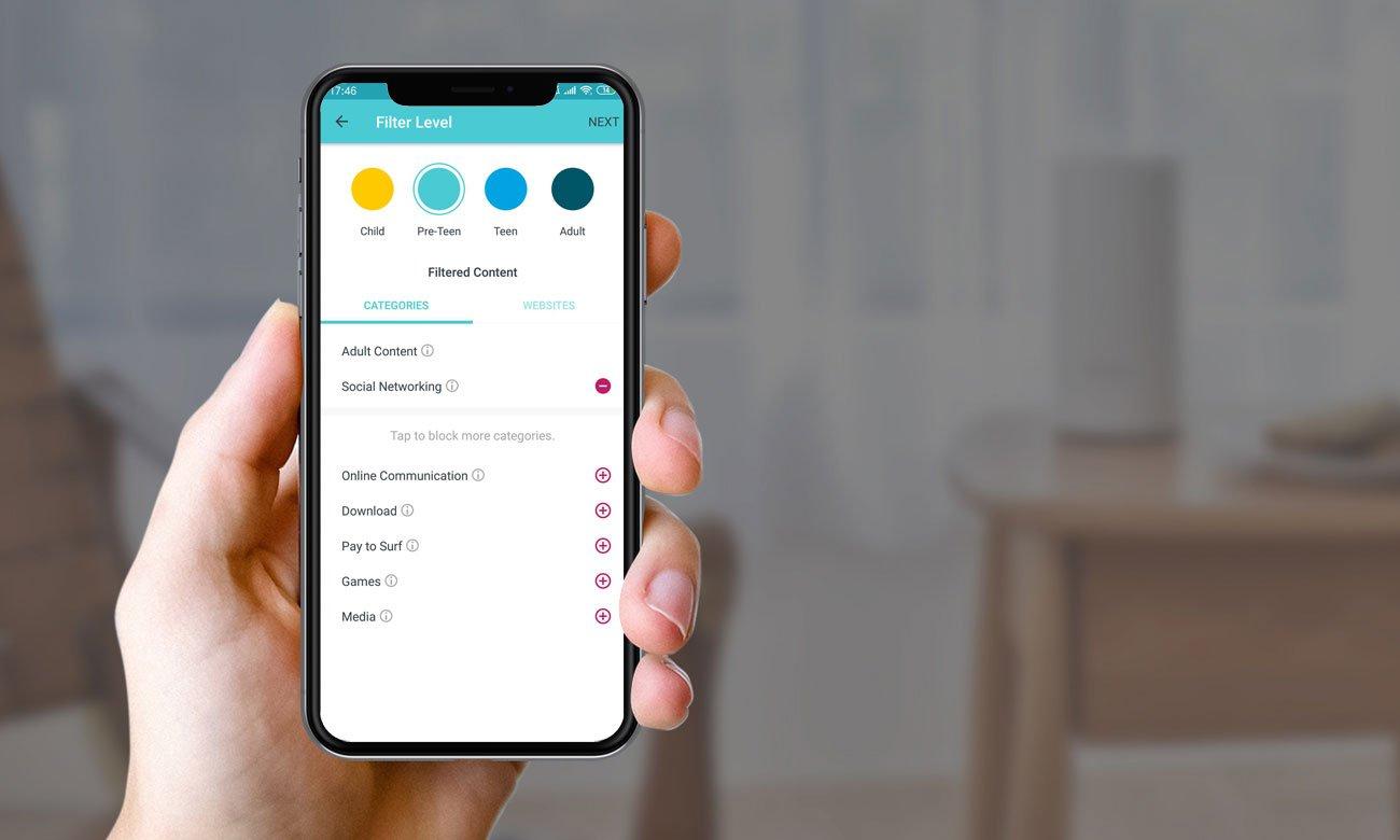 TP-Link DECO E4 - Aplikacja mobilna