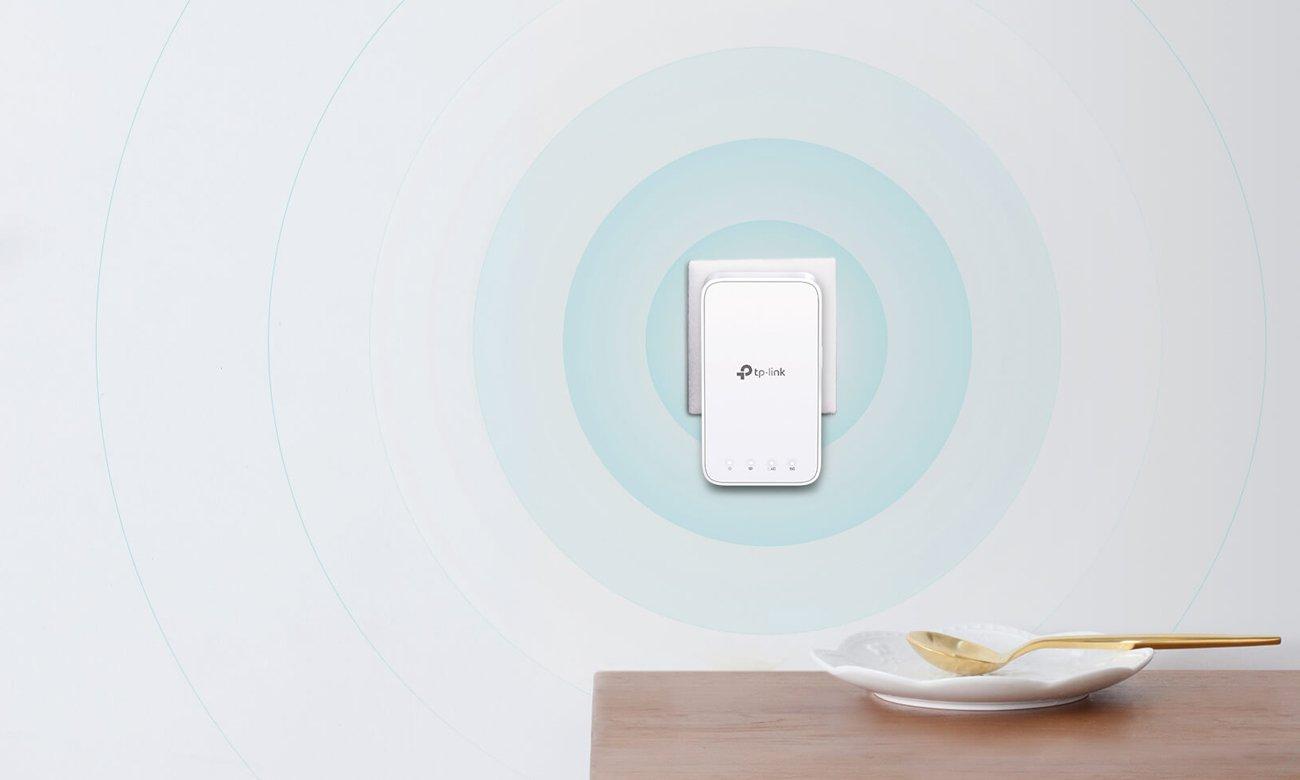 System Mesh Wi-Fi  TP-Link DECO M3W Dodatkowy Mesh WiFi (1200Mb/s b/g/n/ac)