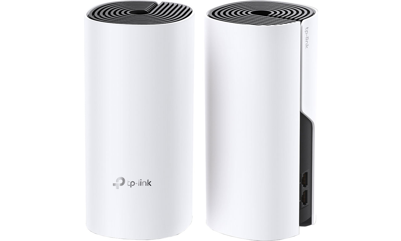 System Mesh Wi-Fi TP-Link DECO M4 Mesh WiFi 1200Mb/s a/b/g/n/ac 2xAP DECO M4 (2-PACK) MU-MIMO DualBand AC