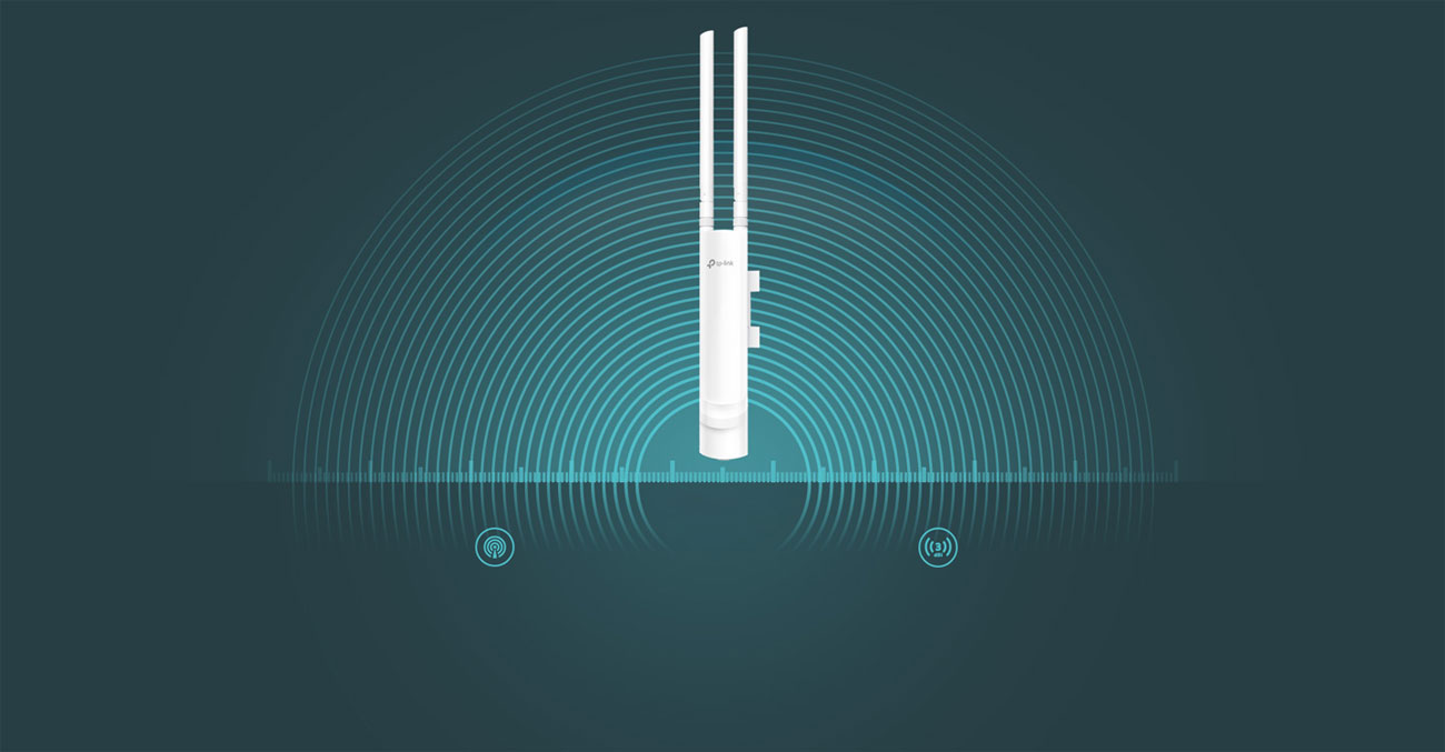 Access Point TP-Link EAP110-Outdoor zasięg i wydajność