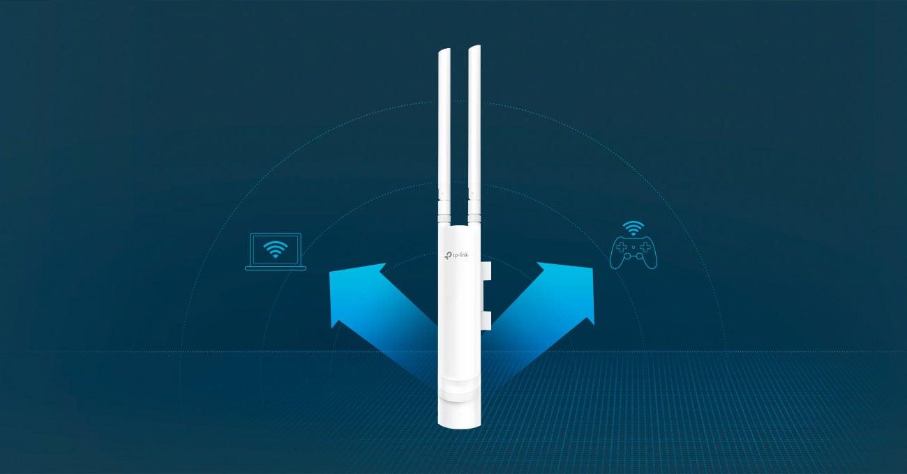 Access Point TP-Link EAP225 802.11a/b/g/n/ac 1200Mb/s MU-MIMO DualBand