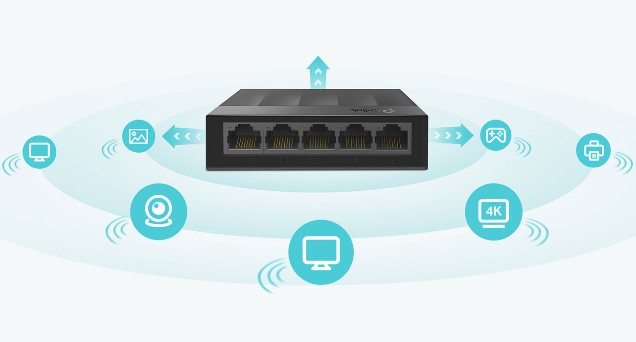 Switch TP-Link 5p LS1005G