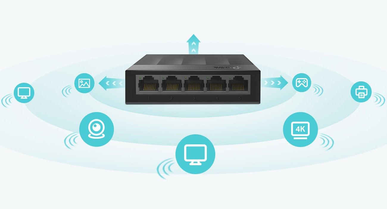 Switch TP-Link 5p LS1005G