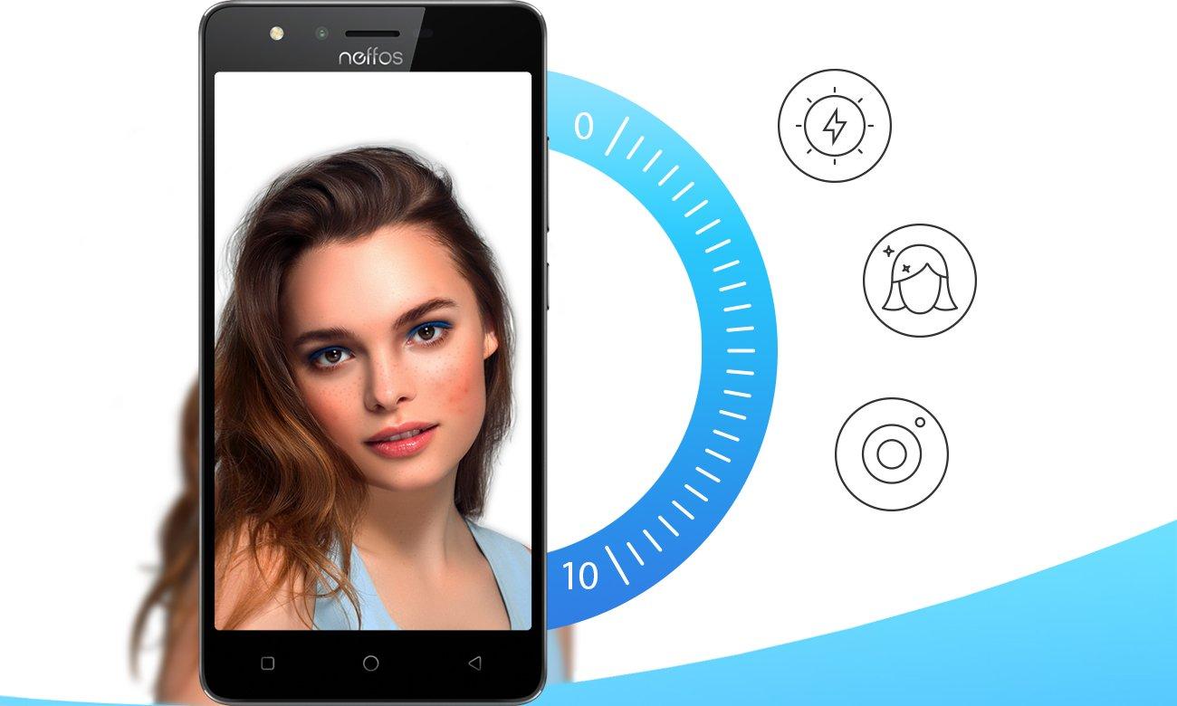 TP-Link Neffos C5s selfie kamera 2 mpix