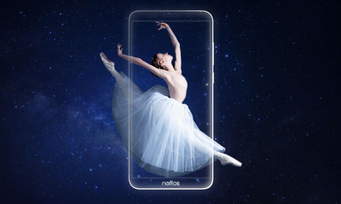 TP-Link Neffos C9A ekran fullview smukła obudowa szklany szkło 2.5D