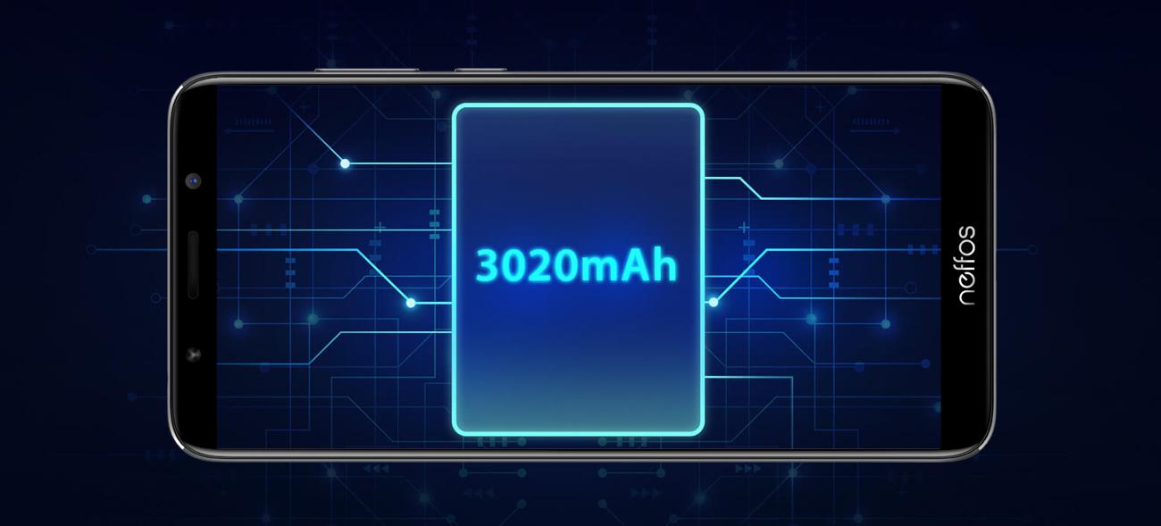TP-Link Neffos C9A bateria 3020 mAh