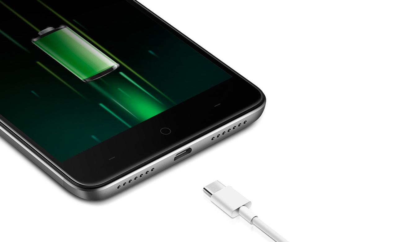 TP-Link Neffos X1 funkcja szybkiego ładowania baterii Quick Charge