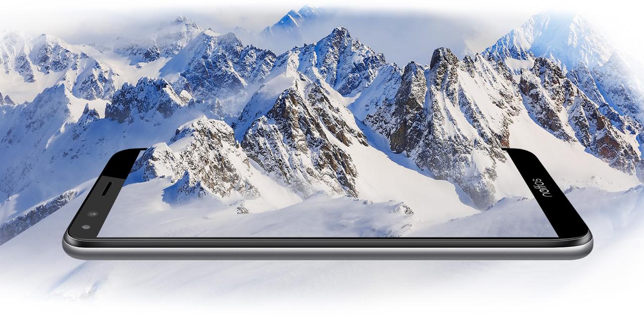 TP-Link Neffos C5 Plus panoramiczny ekran