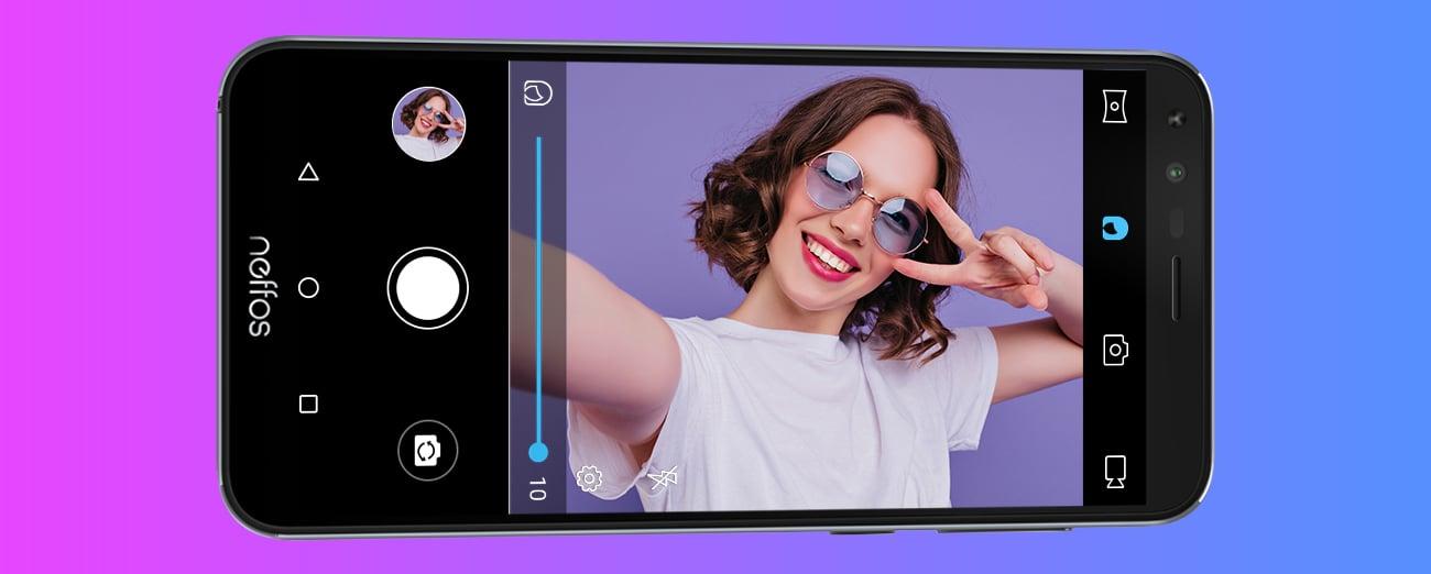 TP-Link Neffos C5 Plus aparat upiększanie selfie