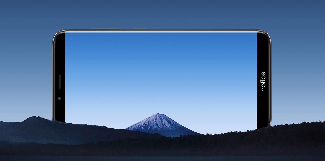TP-Link Neffos X9 panoramiczny bezramkowy ekran FullView 5,99