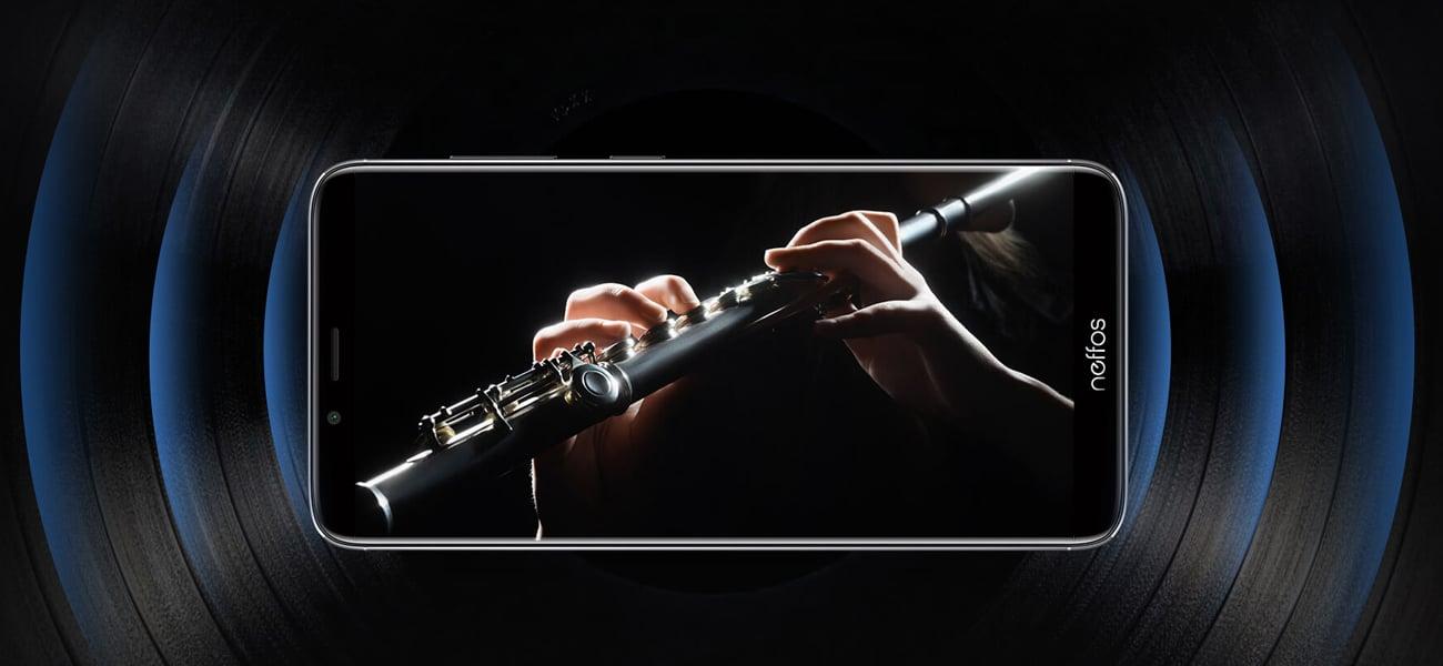 TP-Link Neffos x9 wzmacniacz audio