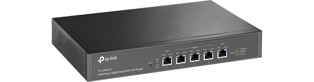 Router TP-Link TL-ER6020 V2 (2xWAN 3xLAN) Gigabit VPN