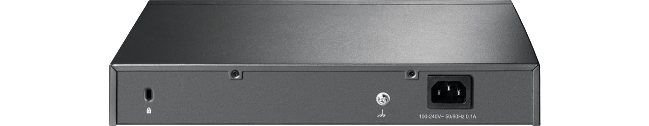 TP-Link TL-ER6020 V2 - Widok z tyłu