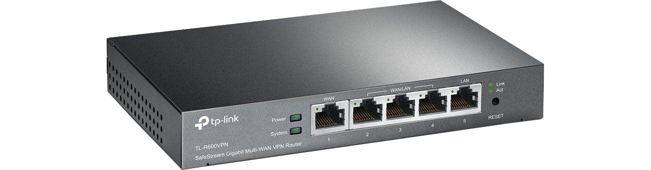Router TP-Link TL-R600VPN (1xWAN/4xLAN) VPN TL-R600VPN (SMB)
