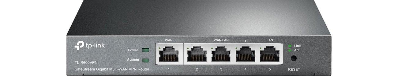 TP-Link TL-R600VPN Widok z przodu