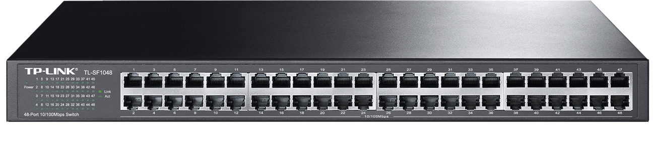 Switch TP-Link 48p TL-SF1048 Rack