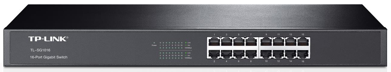 Switch TP-Link 16p TL-SG1016 Rack
