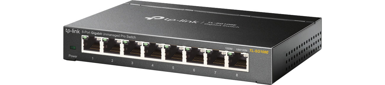 TP-Link TL-SG108E (Unmanaged Pro)