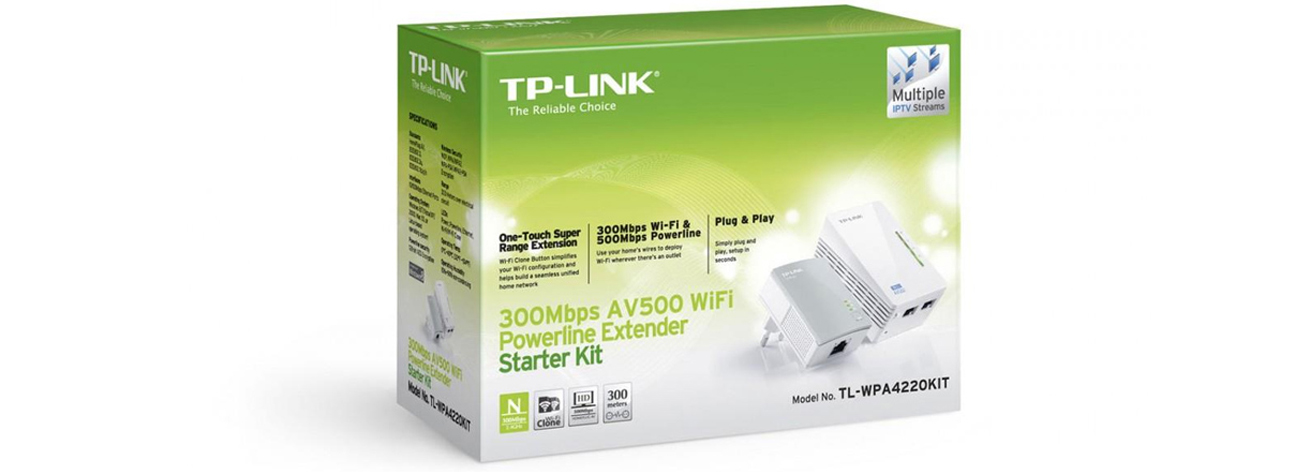 TP-Link TL-WPA4220 KIT PowerLine