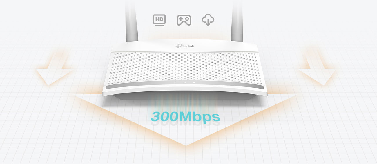 Router TP-Link TL-WR820N