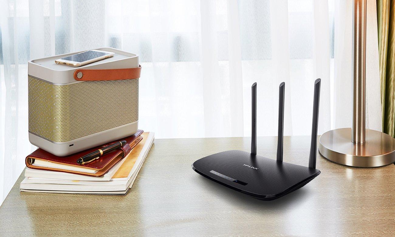 WLAN Geschwindigkeit des Routers bis zu 450Mbit/s TP Link TL WR940N