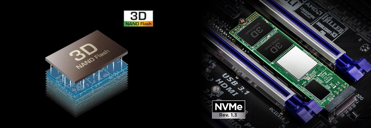 Transcend 220S - 3D NAND NVMe