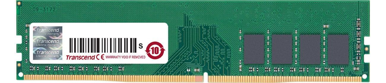 Pamięć RAM DDR4 Transcend 8GB 2666MHz U-DIMM (JetRam) CL19 JM2666HLB-8G