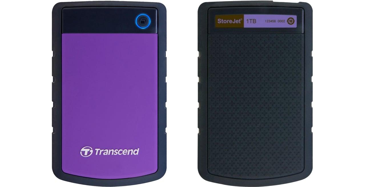 Dysk zewnętrzny Transcend StoreJet 25 H3P 1TB USB 3.0