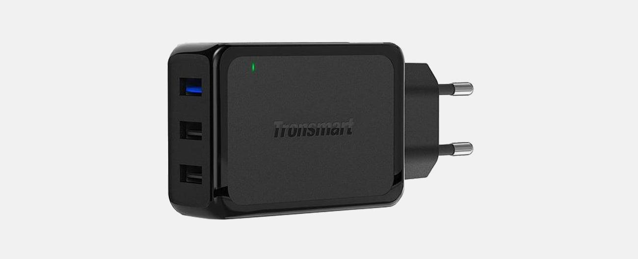 Tronsmart Ładowarka sieciowa 3 x USB 42W Quick Charge 3.0 W3PTA