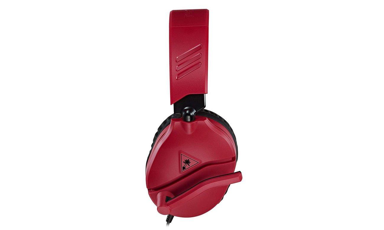 Słuchawki dla graczy Turtle Beach RECON 70N czerwone