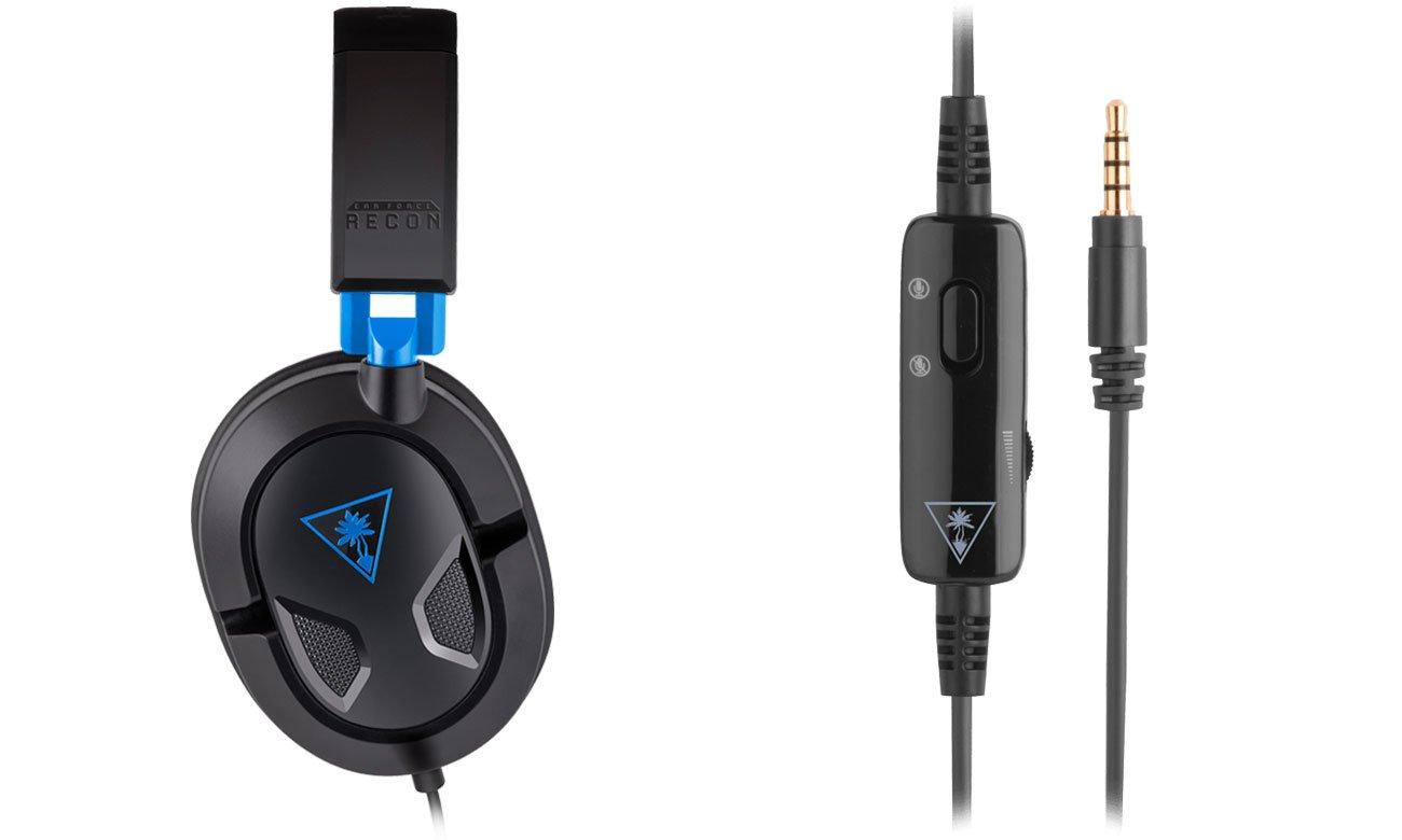 Łatwa kontrola mikrofonu i poziomu głośności