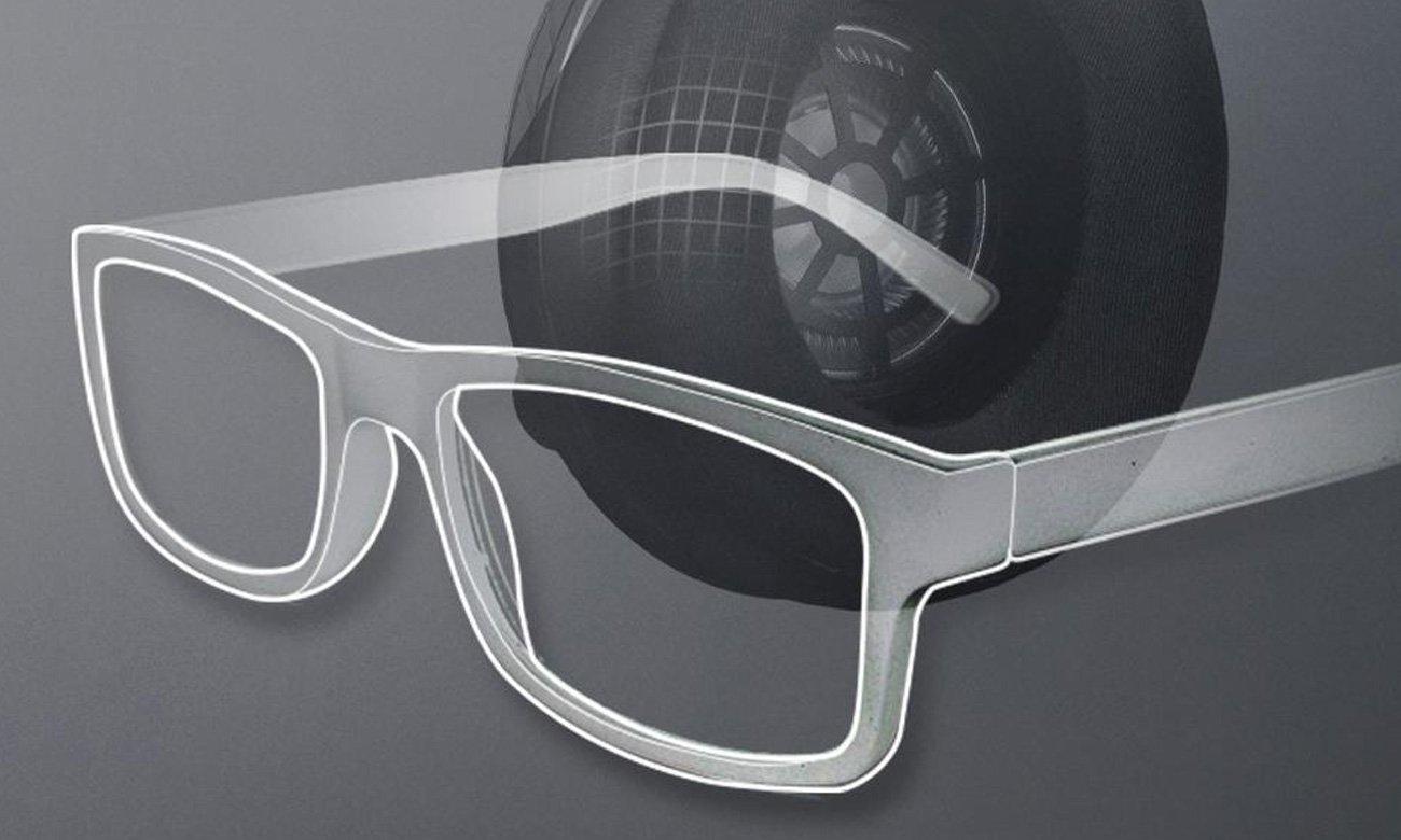 komfort grania z okularami