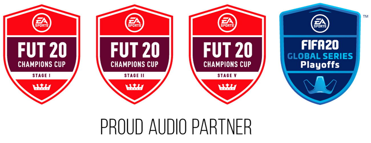 Oficjalny partner turniejów FIFA 20 Global Series
