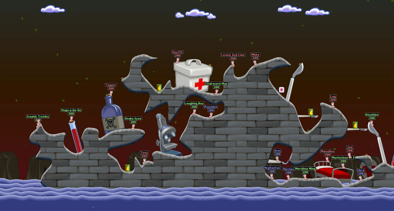 Worms World Party Remastered Mapa