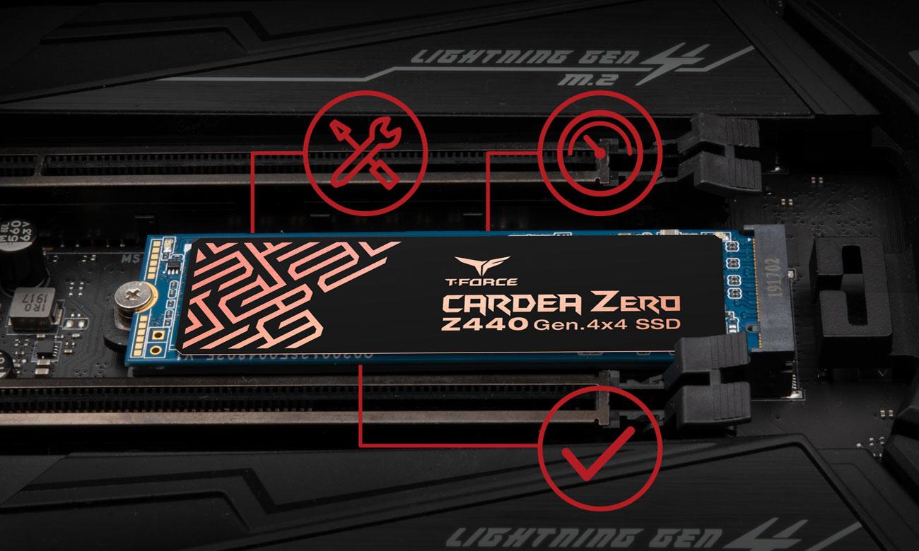 T-Force CARDEA ZERO Z440 - Bezpieczeństwo