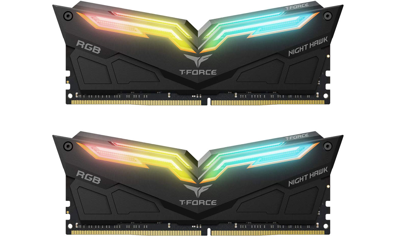 Pamięć RAM DDR4 T-Force 32GB 3600MHz Night Hawk RGB CL18 (2x16GB) TF1D416G4000HC18EDC01