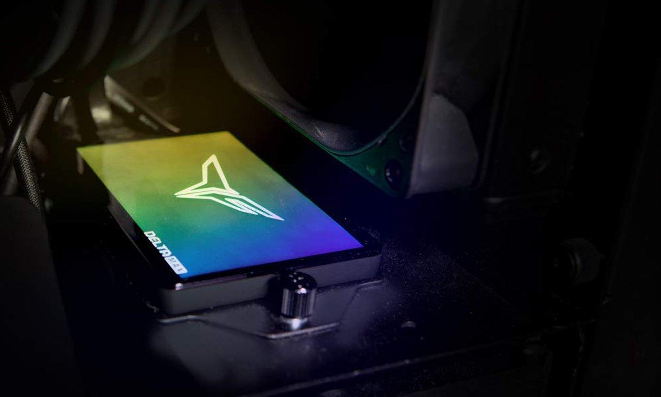 T-Force Delta Max RGB - Podświetlenie